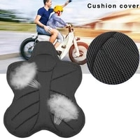 motorcycle seat cushion 3d mesh pad cover for electric bike universal summer breathable heat insulation seat cushion cover