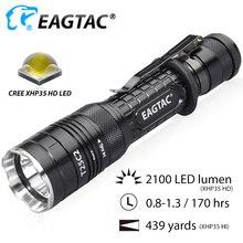 EAGTAC T25C2 Pro 2100 Lumens support de pistolet à lampe de poche LED tactique pour la chasse Module remplaçable IR UV vert rouge torche Multi Mode
