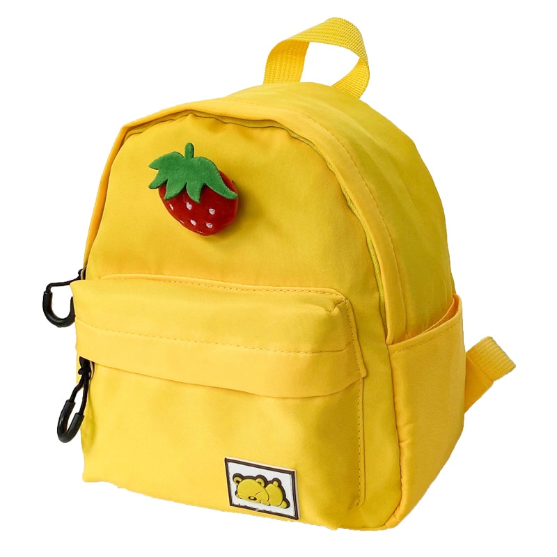 рюкзак mochila infantil Children's Backpack bolsos Cartoon Cute Strawberry Bag Boy Girl Kindergarten Schoolbag 2021 New