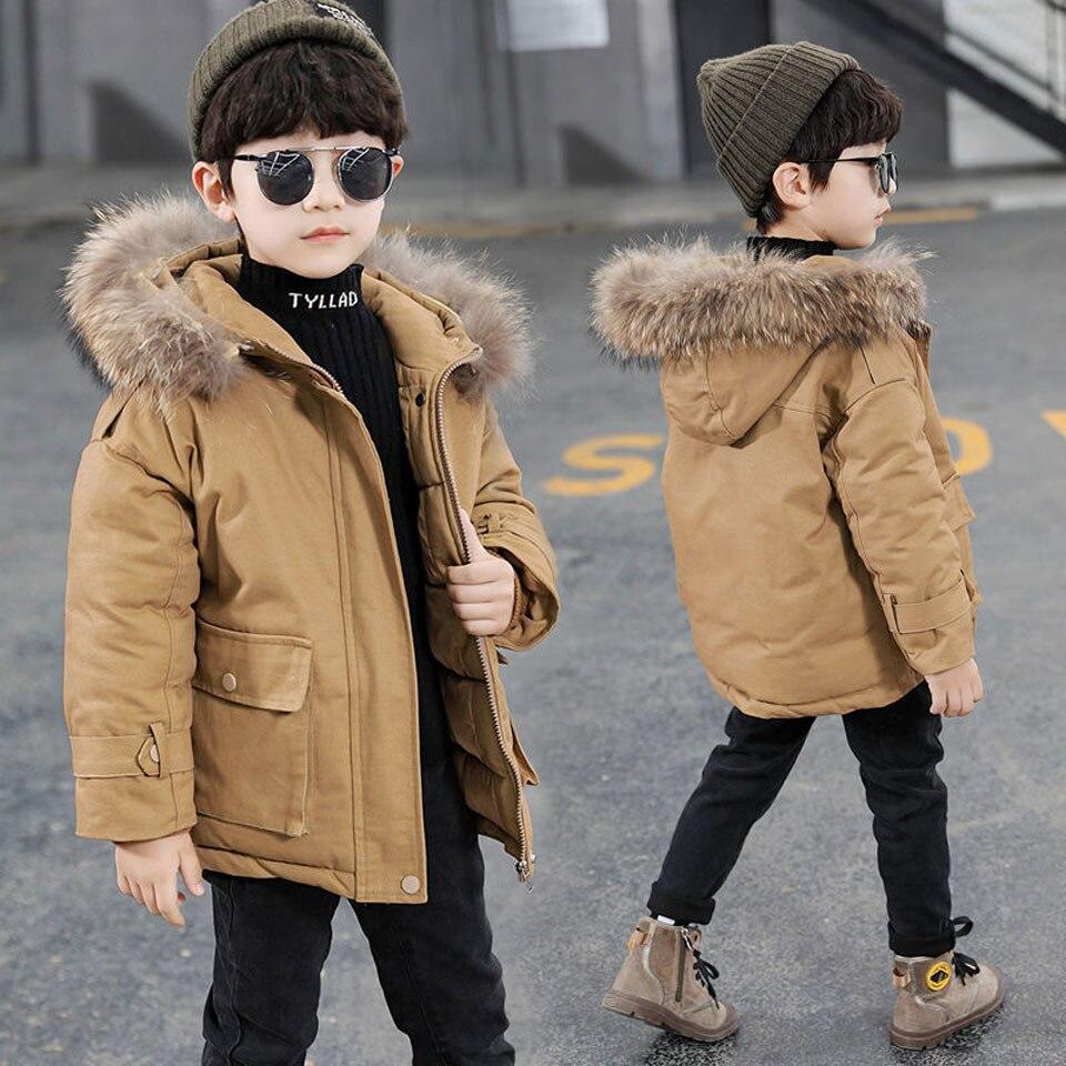 2021 الأطفال أسفل سترة الأطفال ستر معطف الشتاء الأطفال أطفال الأولاد يندبروف أسفل الدافئة الشتاء معطف ل 100-160 سنتيمتر