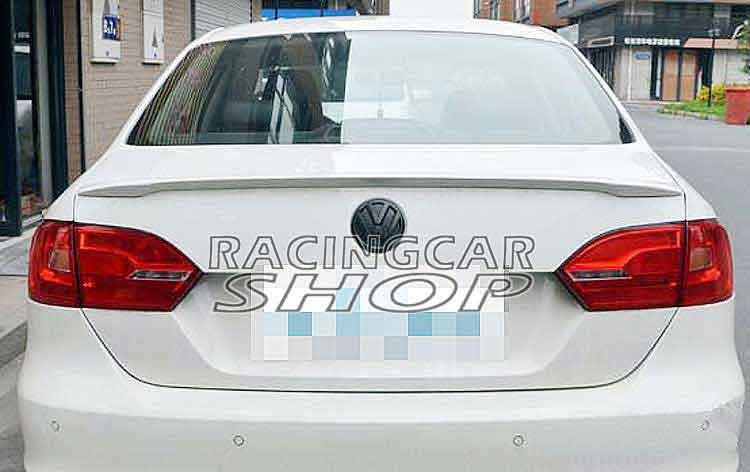 UNPAINTED  Rear Trunk Spoiler Wing Fit For VW VOLKSWAGEN JETTA 4DR MK6 Sedan 2011UP V019F