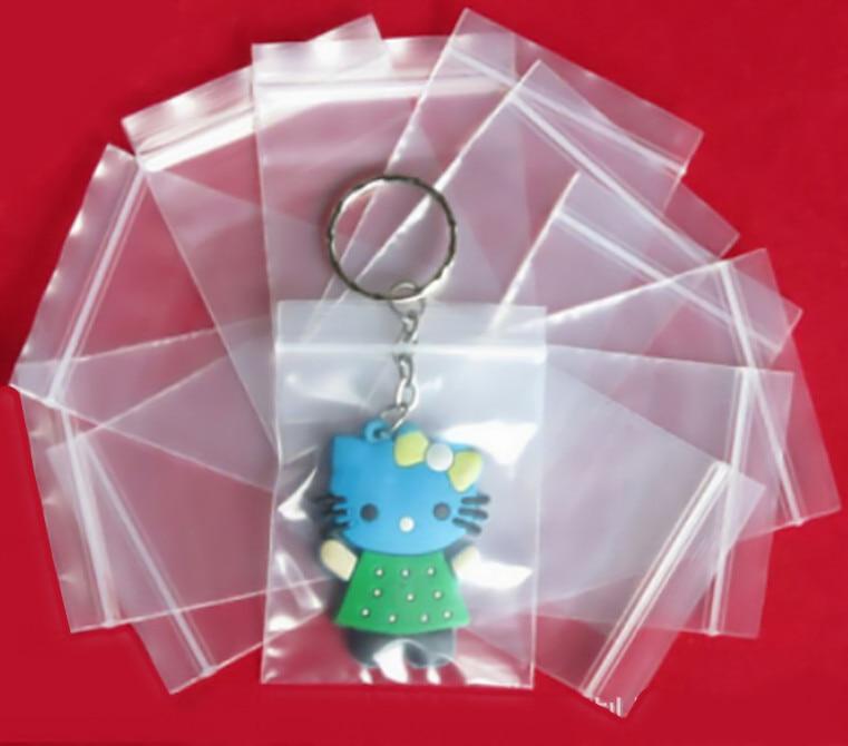 Sacos de plástico individuais do pacote dos sacos do espaço livre dos artigos diversos mini para sacos de embalagem da joia 100 pces que embalam sacos de fechamento do fecho de correr do bloco branco 2x3cm
