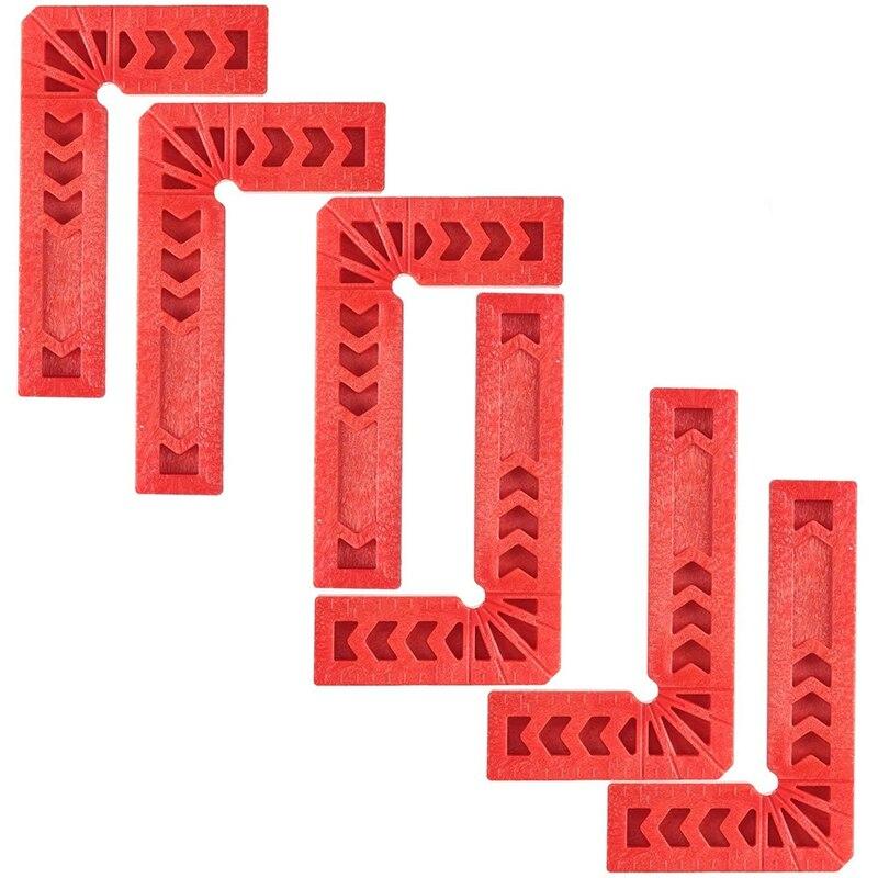 Ferramenta do Woodworking Graus para Quadros de Imagem Ângulos de 90 Pces Posicionam Quadrados Apertando Armários ou Gavetas 3 Polegada 8 Que