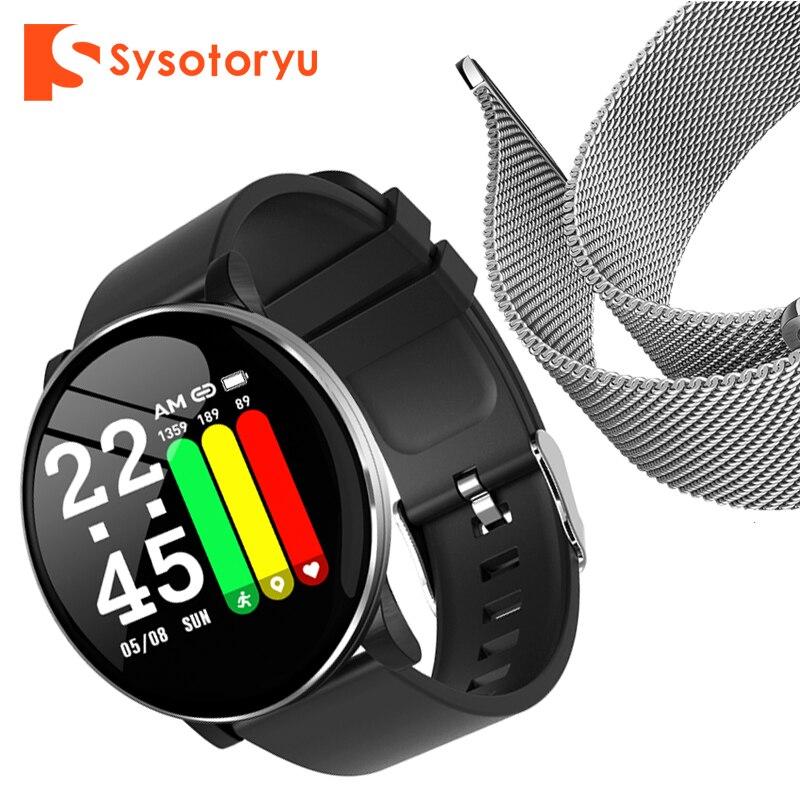 Smartwatch 2019 mais quente, frequência cardíaca pressão arterial masculino smartwatch bluetooth pulseira smartwatch para apple ios android telefone