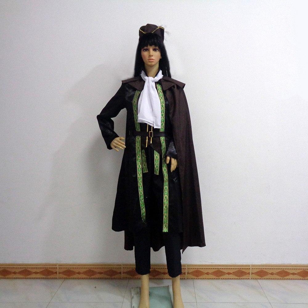 Disfraz de Cosplay de Bloodborne, uniforme de heroína, maria, para fiesta de Navidad y Halloween, personalizable en cualquier tamaño