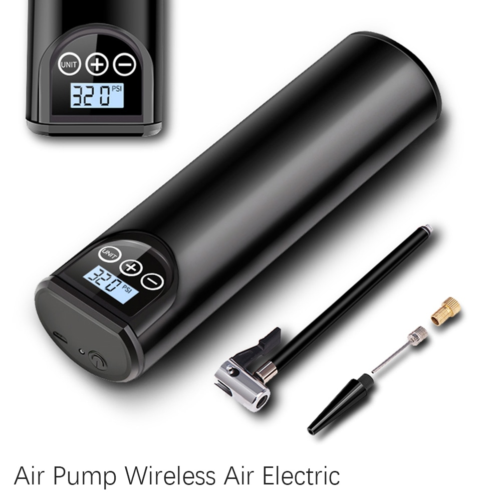 Electric Car Air Pump 12V 150PSI Rechargeable Tire Inflator Wireless Compressor Digital Tyre Pump for Car Bicycle Tires Balls 120w rechargeable air compressor wireless inflatable pump portable air pump car tire inflator digital for car bicycle balls