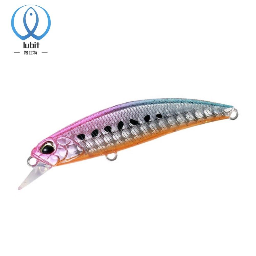 Lubit ryuki Minnow 60mm 6,5g señuelo de pesca Mini jerkbaits hielo swimbait aparejos de pesca japoneses pesca bass trucha señuelos cebo duro