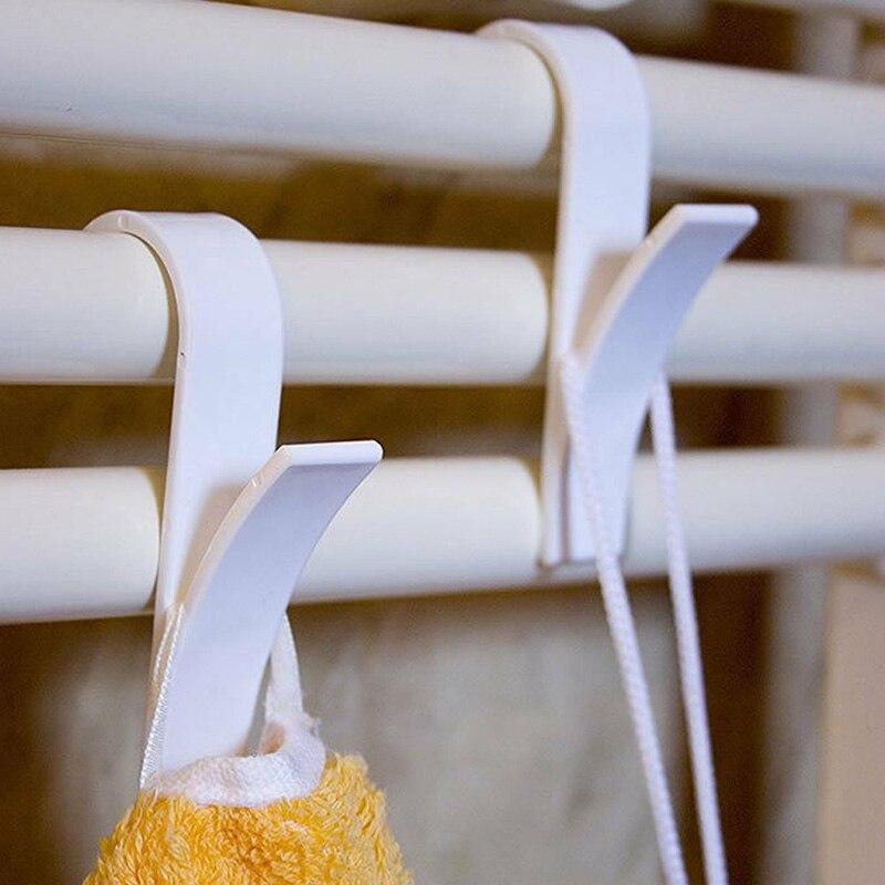 High Quality Hook Hook For Towel Radiator Rail Heater Bath Hook Holder  Home Christmas Decorations