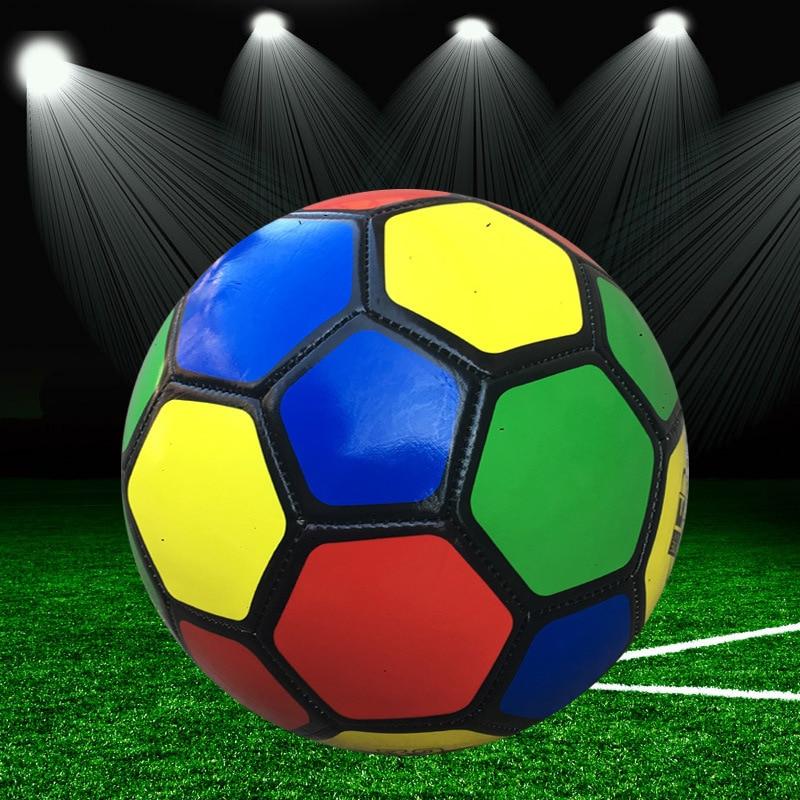 Стандартный размер 5, уличные футбольные мячи из ПВХ, футбольные мячи, тренировочные мячи для студентов, тренировочная команда для детей