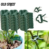 10203040pc grafting clamp greenhouse clamp holder plastic plant clamp fastener bracket fixed seed stem support plant grafting