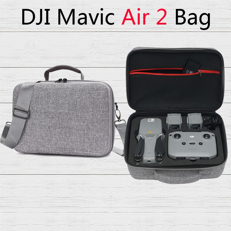 Large Capacity DJI Mavic Air 2 /DJI Air 2S Storage Bag Travel Shoulder Bags for DJI Mavic Air 2 Drone Accessories