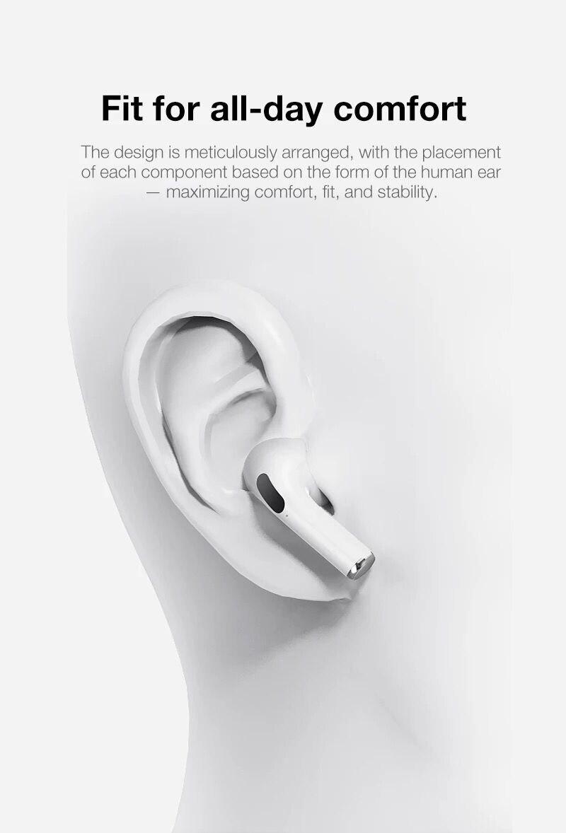 D tws fone de ouvido sem fio bluetooth 5.0 fone de ouvido no pro alta fidelidade qualidade som gaming headset esportes fones para o telefone pro 3