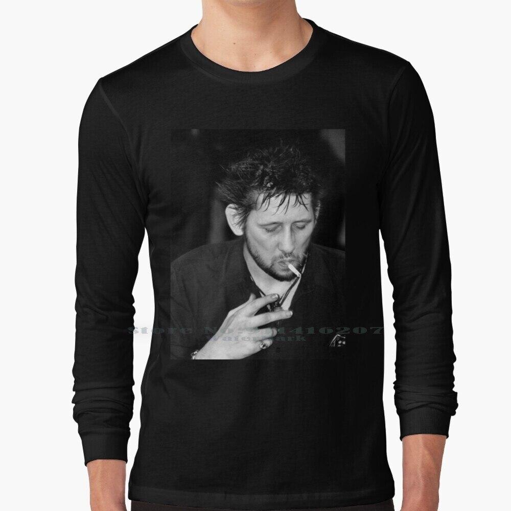 Shane Macgowan Smoking I T Shirt 100% Pure Cotton Punk N Roll Music Pogues Irish Shane Macgowan Heathers Photography Heather