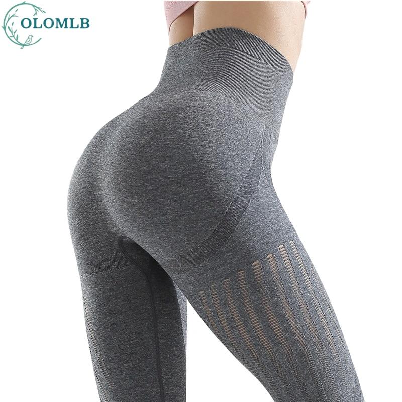 Yoga Leggings Pants Sport Female Harem Women Legging Anti Cellulite Clothes High Waist