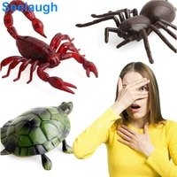 new exotic simulation remote control animal infrared electric tricky remote control snake remote control insect toy dropshipping