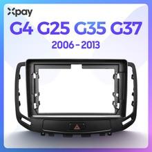 Xpay 9 Inch 2din Dashboard Frame Cd Car Radio Stereo Trim Kit Audio Panel Voor Infiniti G4 G25 G35 2006 2007 2008 2009 2010 2011 2012 2013 Frame En Canbus