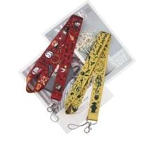 fd0145 anime lanyard work card exhibition membership card sling certificate holder badge long neck lanyard