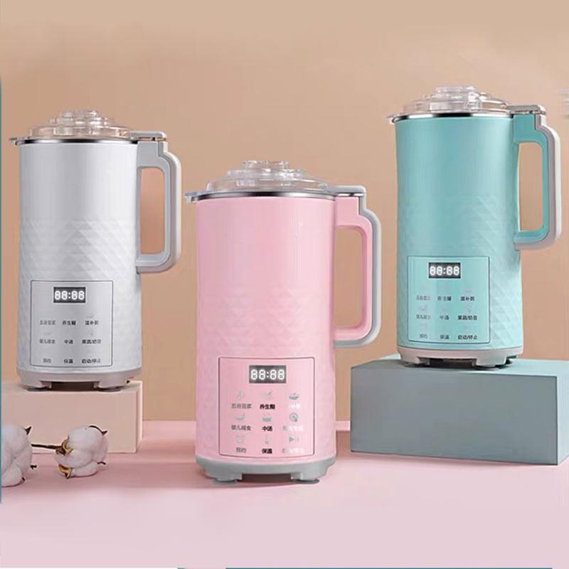 700 мл автоматическая электрическая машина для соевого молока Бытовая многофункциональная Мини соковыжималка соевое-бобовое молоко переме...