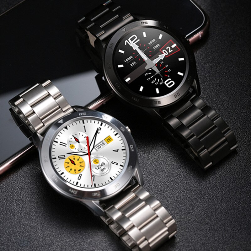 Smart Bracelet ECG Blood Pressure Monitoring Smart Sports Watch Bluetooth Call Remote Camera Business Fashion