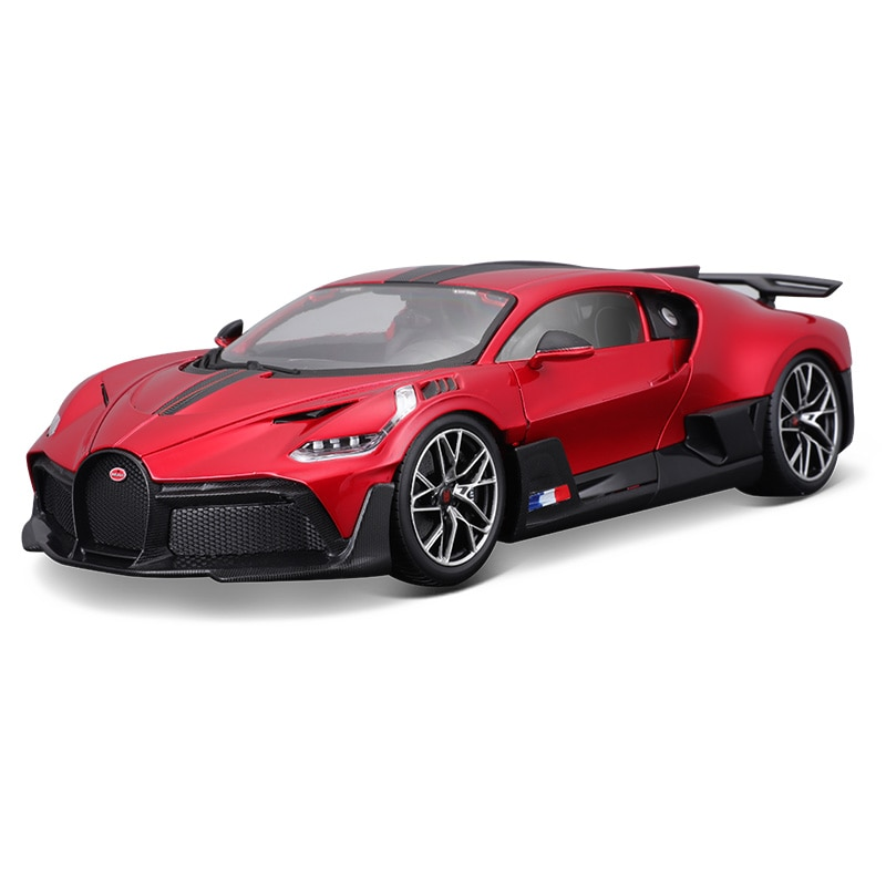 Bburago 1:18 Scale Bugatti Divo limited edition Alloy Luxury Vehicle Diecast Cars Model Toy Collection Gift ixo altaya 1 43 scale ford mustang shelby gt 350h 1965 cars diecast toys models limited edition collection white