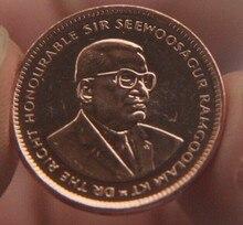 20mm maurício, 100% real genuíno comemorative coin, coleção original