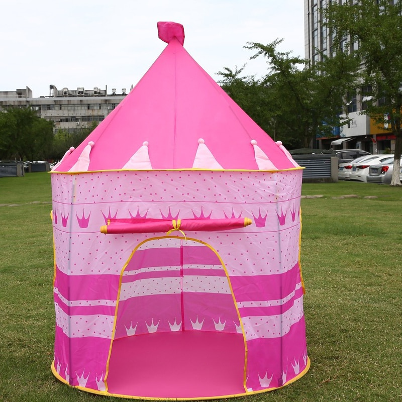 Children's Tent Yurt Game House Princess Prince Indoor Outdoor Baby Crawling Kids Play House Play House Dome Tent Tent House