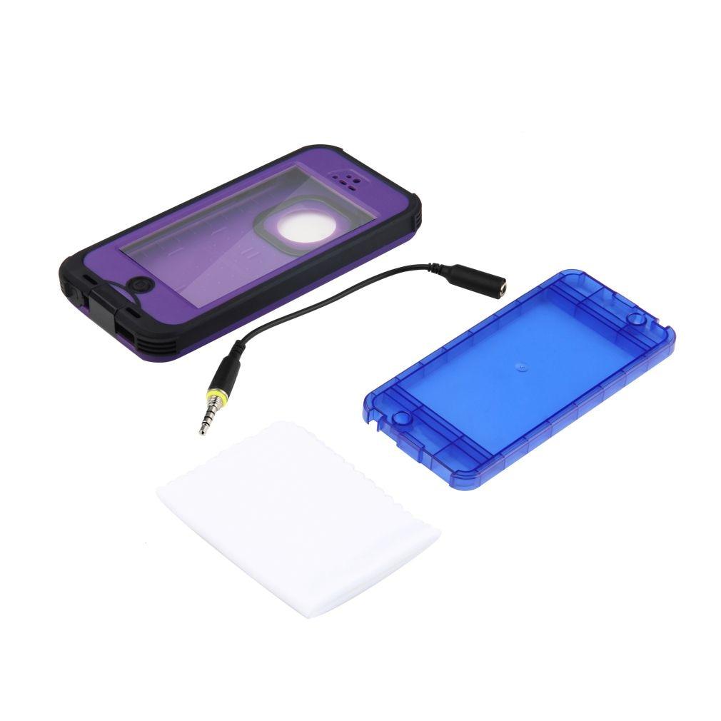 Redpepper, Anti-polvo, resistente al agua, a prueba de golpes, funda a prueba de polvo para iPhone 5 5S