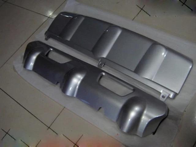 واقي المصد الأمامي والخلفي ، 2 قطعة ، مع فتحة مفاتيح لنيسان روج إكس تريل 2008-2013 ، ملحقات تزيين السيارة