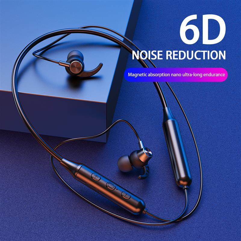 DD9 Bluetooth5.0 Wireless Headset Waterproof Sport Earbud with Noise Cancelling Mic Magnetic Neckband Earphones enlarge