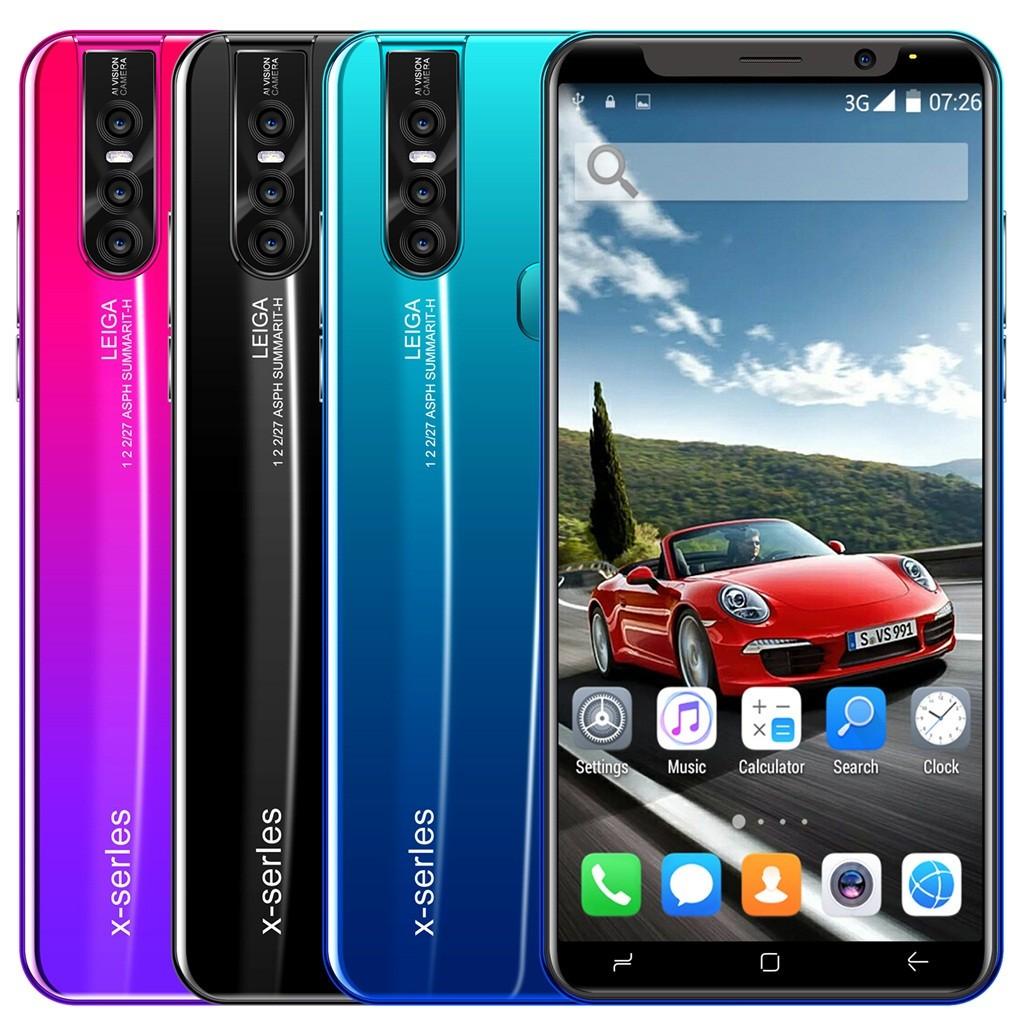 Nuevo 5,0 pulgadas Cámara Dual HD Android6.0 1G + 4G GPS 3G llamada de teléfono móvil Smartphe телефон smartphone новые смартфоны teléfono # G30