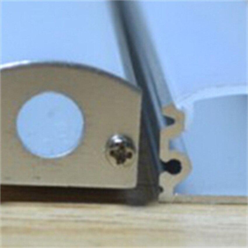 شحن مجاني جديد الألومنيوم الشخصي لشريط Led إضاءة داخلية الديكور 2 متر/القطعة