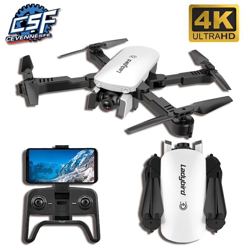2021 New drone 4K HD aerial camera quadcopter optical flow hover smart follow dual camera remote control helicopter with camera