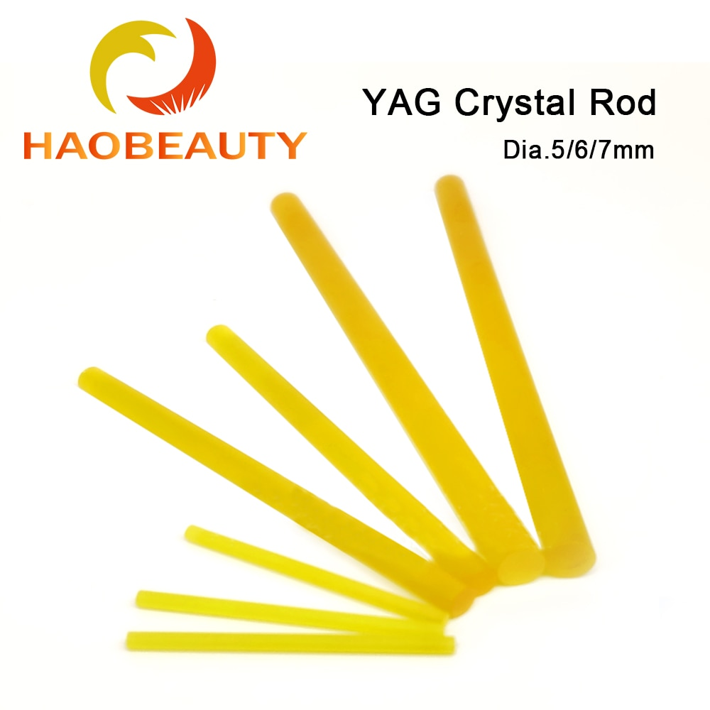 HAOBEAUTY معدات التجميل مع مزدوجة مخدر YAG الكريستال قضيب الليزر قضيب معدات التجميل بالليزر