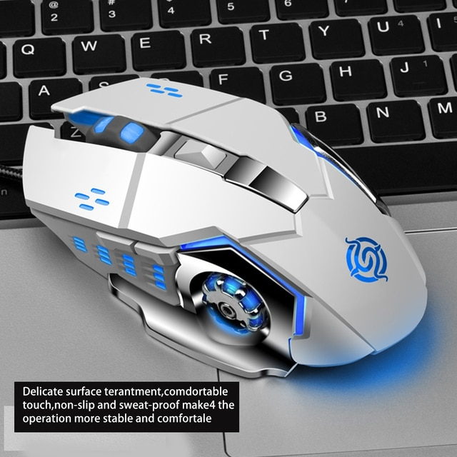 Hot Selling Viper Competition Q5 Gaming Mouse USB Wired CF Survival Chicken Pressure Gun Custom 4