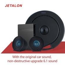 "15inch spare tire subwoofer with 5"" speaker 3 channel DSP amplifer 2"" full range speakers backup tire suwboofer car stereo set"