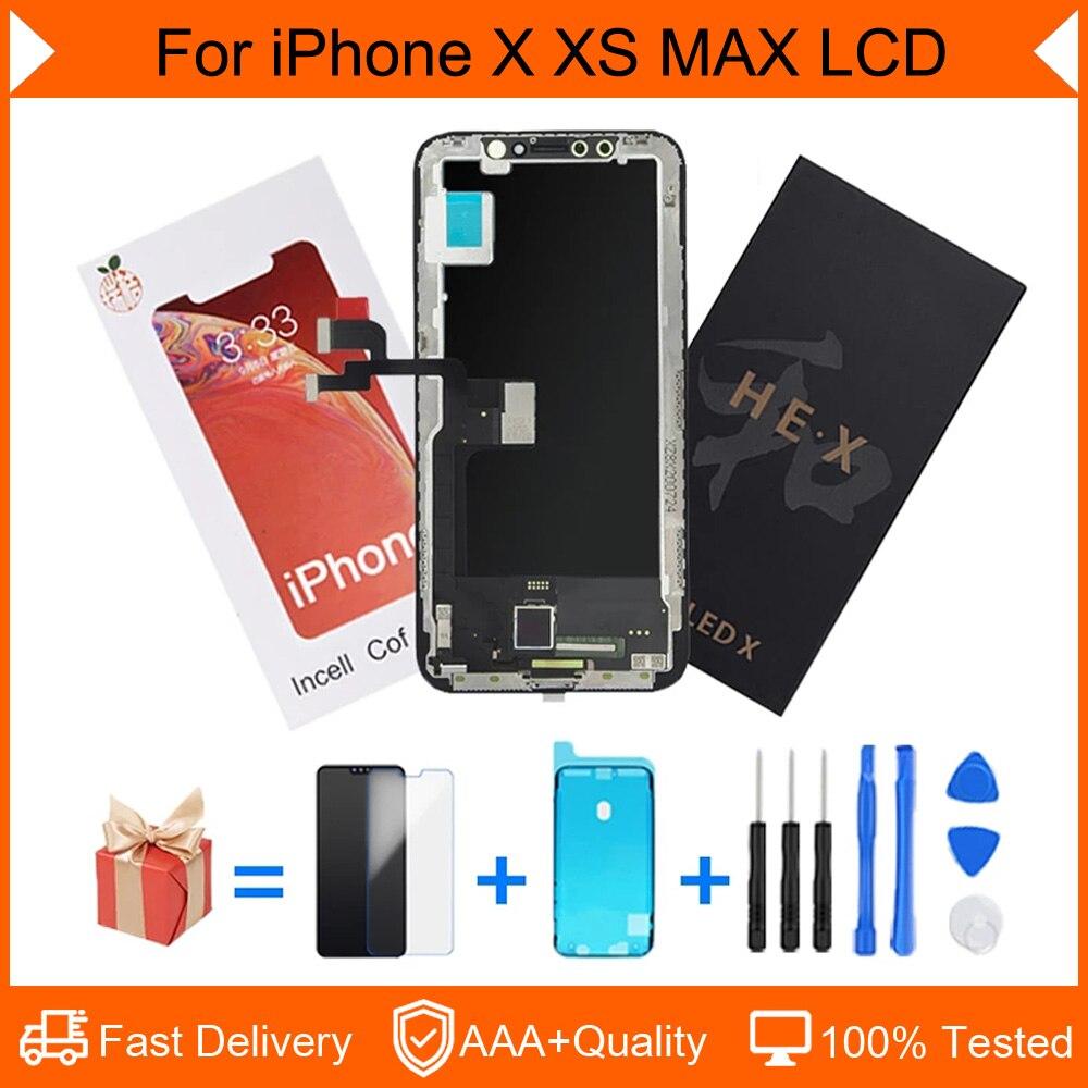بانتيلا عالي الجودة AAA للايفون X XS XR 11Pro ماكس شاشة OLED تعمل باللمس محول الأرقام الجمعية استبدال لا الميت بكسل العرض