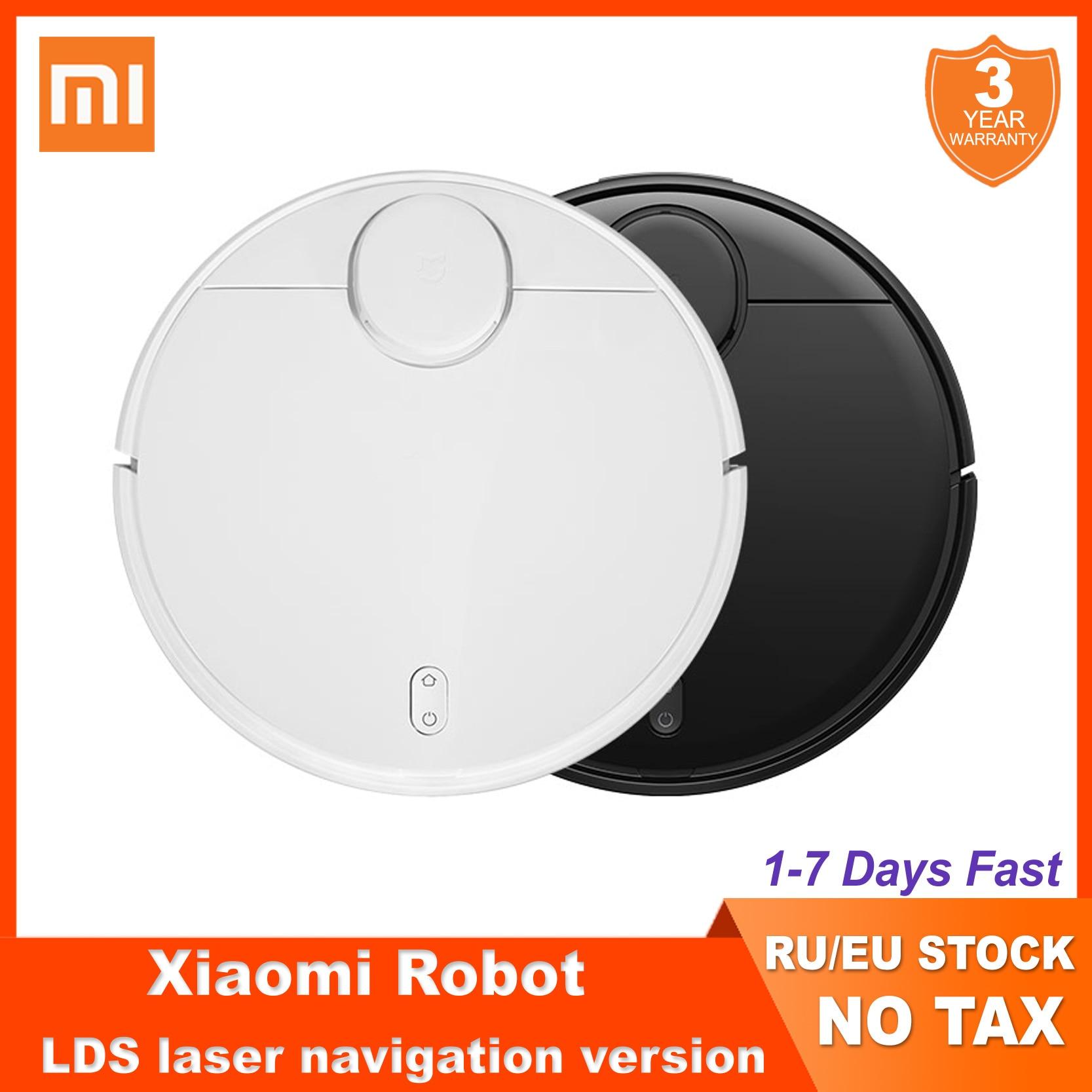 Xiaomi-robô aspirador de pó, modelo v2, mijia, limpa, varre e esfrega, controle a radar