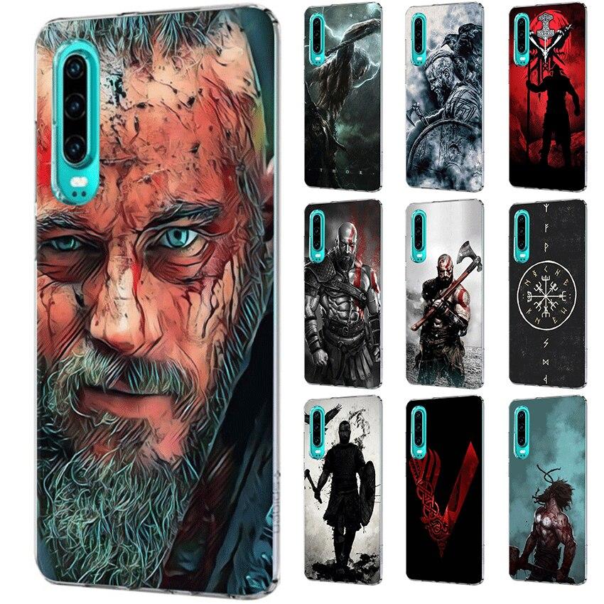 Móvil funda de teléfono para Xiaomi Redmi 7A K20 a 7 4 primer 3S 3 4 5 6 7Pro S2 4A 5A 6A cubierta dura vikingos Serie