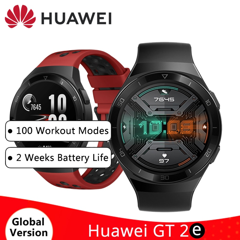 "HUAWEI Watch GT 2e GT2e Smartwatch 1,39 ""Color AMOLED 100 modos de entrenamiento 14 días en espera 5ATM deporte impermeable ritmo cardíaco Tracker"