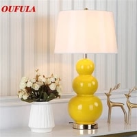 outela ceramic table lamps desk luxury modern contemporary fabric for foyer living room office creative bed room hotel