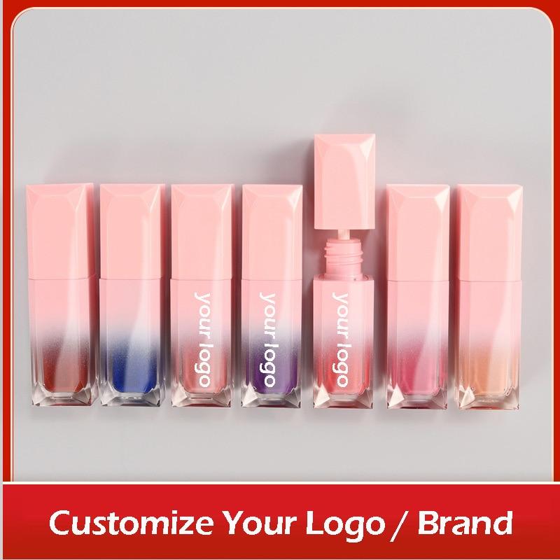 10/20 Private Label Lip Gloss Lip Plumper Non-sticky Long-lasting Color-locking Moisturizing Shine Shimmer Lips Care Custom Logo