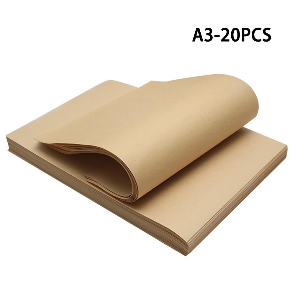 Подарочная коробка из Коричневой Крафт-Бумаги Формата А3, 20 шт.