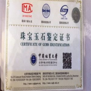 jewelry certificate charge If you need please tell us the jewelry you need certificate
