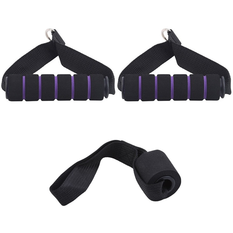 Cinta de entrenamiento de gimnasia, accesorio de Cable de cuerda de tríceps,...