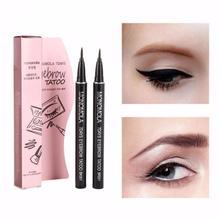 Stylo à sourcils Pro marron mat/marron clair, crayon de tatouage, doublure longue durée, étanche, cosmétiques de maquillage, 1 pièce