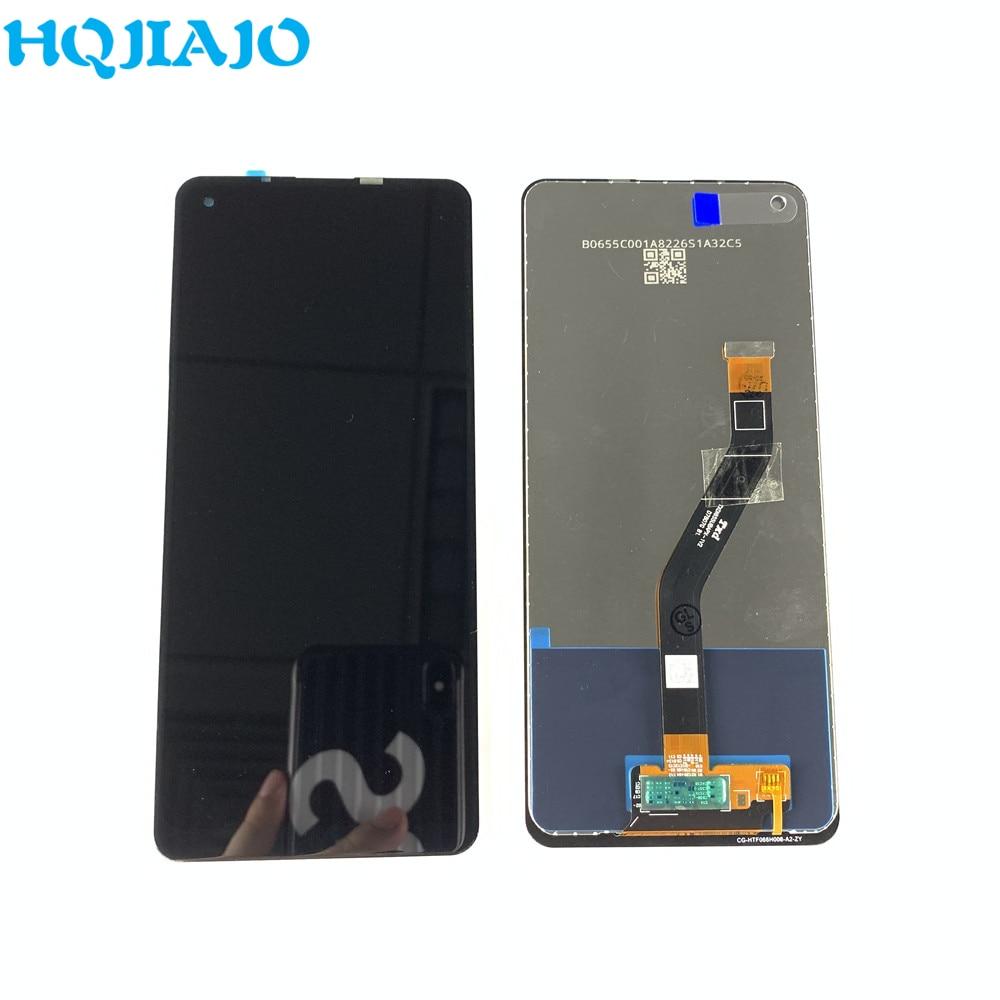 2 قطعة الأصلي AMOLED عرض لسامسونج غالاكسي A215U A215U1 A215 LCD تعمل باللمس لسامسونج A21 A215 إصلاح جزء