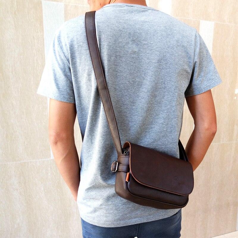 Design Luxury Men Crossbody Bag European and American Fashion Men Shoulder Bag High Quality Unisex Large Capacity Messenger Bag