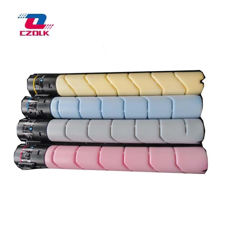 Cartucho de Toner para Konica Compatível Novo Minolta Bizhub C224 C284 C364 Tn321 C224e C284e C364e C227 C287 4 Pçs – Set 1set x