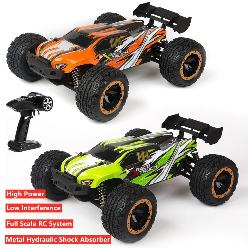 40KM/H High Speed Electric 1:16 Off-Road Children RC Truck 2.4G Big Foot Multi-Player Racing Remote Control Buggy Truck Kids Toy enlarge
