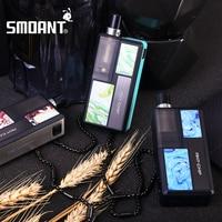 2021 новый оригинальный Smoant Knight 80 RBA Pod Mod Kit 18650 батарея 4,0 мл Pod Vape Kit электронная сигарета Mesh RBA Coil